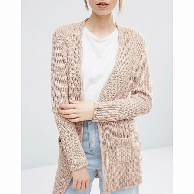 SL1332 Ex Chainstore Ultimate Chunky Cardigan - Nude x12