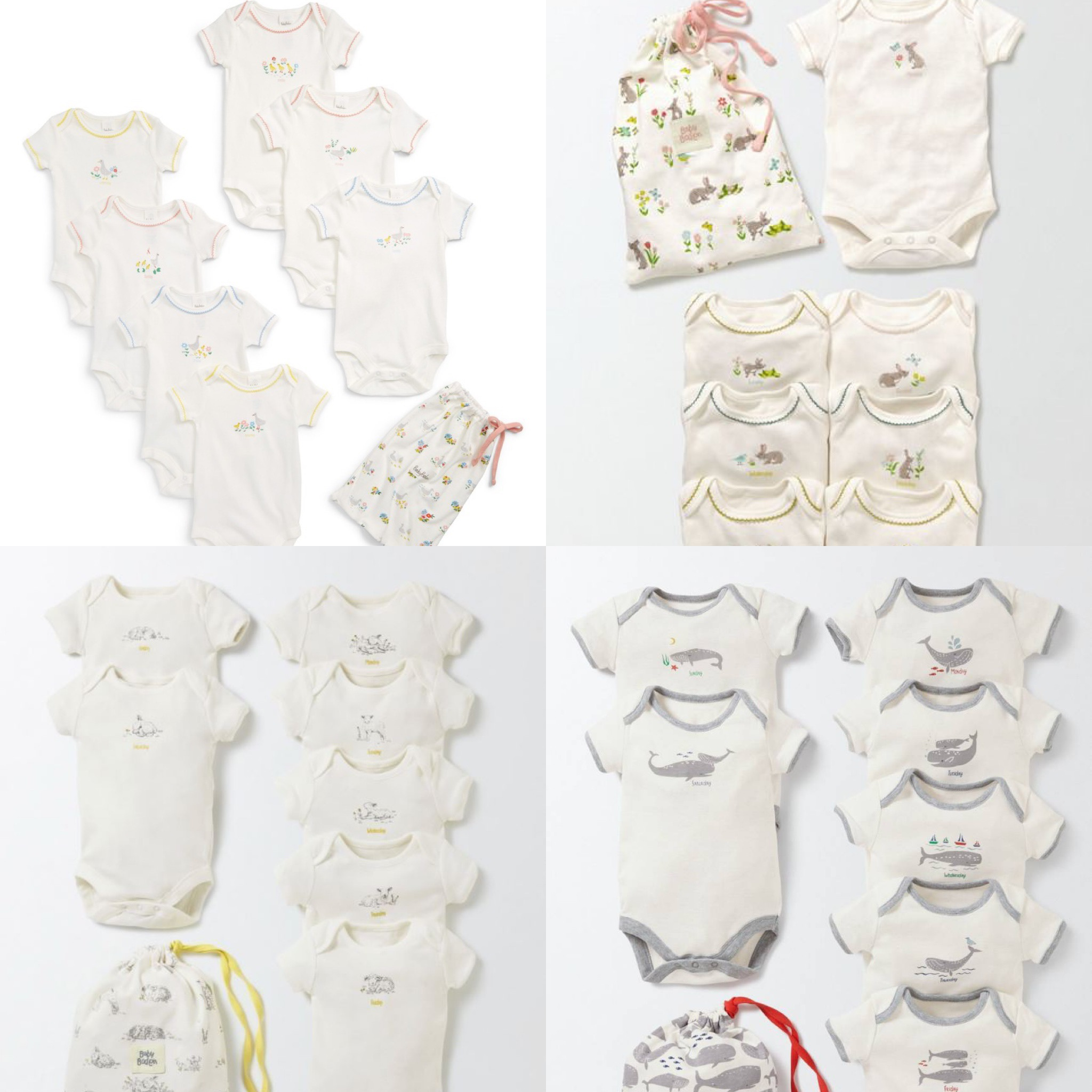 SC283 Ex Chainstore Assorted Days of The Week Bodysuits x100