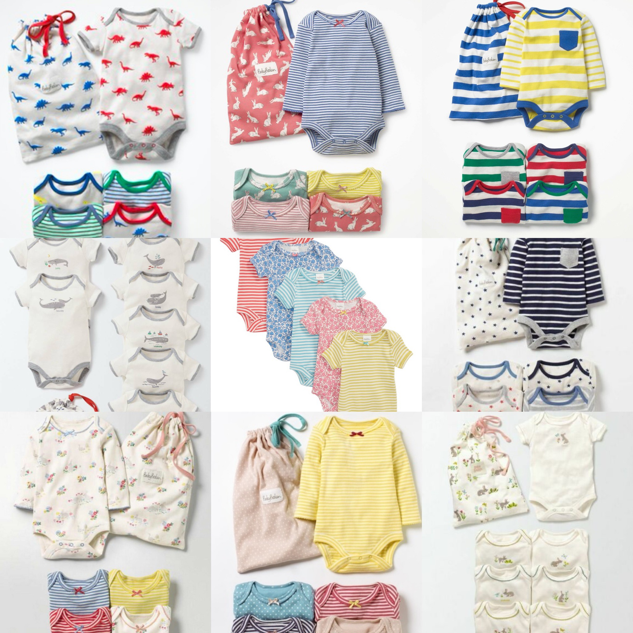 SC283 Ex Chainstore Assorted Boys & Girls Mixed Bodysuits x1000