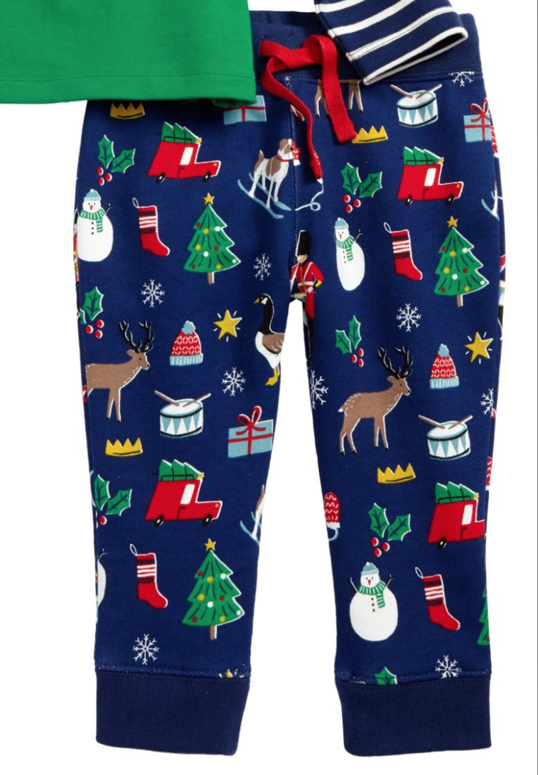 SC212 Ex Chainstore Festive Fun Printed Bottoms x42