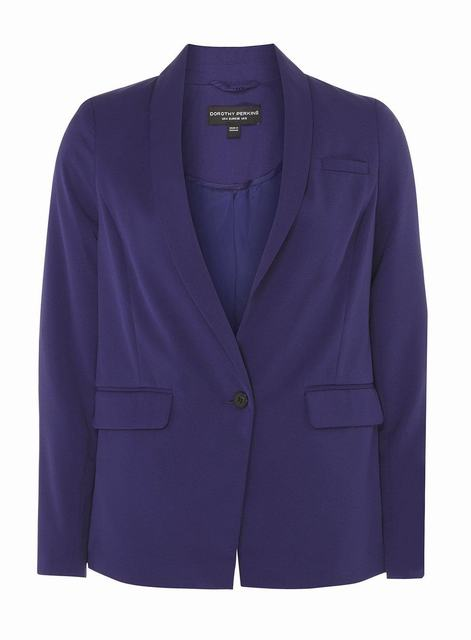 SL1211 Ex Chainstore Cobalt Tailored Fit Button Blazer x10
