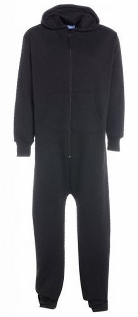 SM011 Ex UK Chainstore Navy Quilted Onesie x7