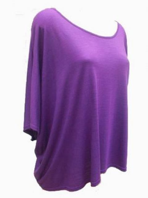 SL002 Ex UK chainstore Purple Drape Top x7