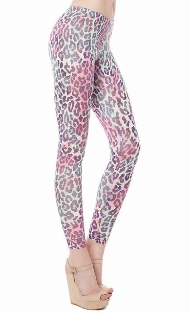 SL508 Ex UK Chainstore Animal Print Leggings x11