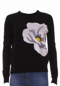 SL197 Ex UK Chainstore Guage Flower Jumper x10