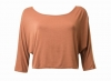 SL658 Ex UK Chainstore Jersey Cross Rust Top x9