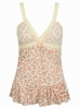 SL992 Ex UK Chainstore Floral Lace Cami x12