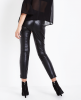 SL1269 Ex Chainstore Seam Front Leather Look Leggings x4