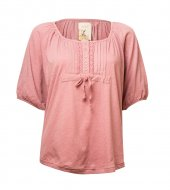 SL608 Ex UK Chainstore Pink Smock Top x12