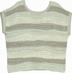 SL006 Ex UK Chainstore striped capped sleeved jumper x7