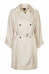 SL742 Ex UK Chainstore Lightweight Textured Truster Coat x10