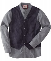 SM024 Ex UK Chainstore Shirt With Built-In Waistcoat x12