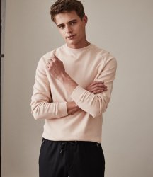 SM052 Ex Chainstore Garment Dyed Sweatshirt - Rose x11