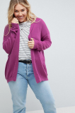SL1084 Ex Chainstore Purple Cardigan Fine Knit Fluffy Yarn x13
