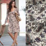 SL997 Ex UK Chainstore Floral Paisley Belted Tea Dress (x15)