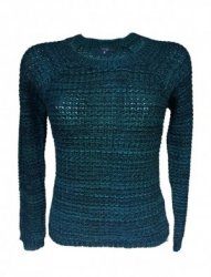 SL217 Ex UK Chainstore Knitted Jumper - Green x10