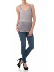 SL281 Ex UK Chainstore Grey Knitted Vest x12