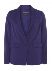 SL1211 Ex Chainstore Cobalt Tailored Fit Button Blazer x11