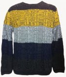 SM002 Ex UK Chainstore Block Gradient Jumper x9