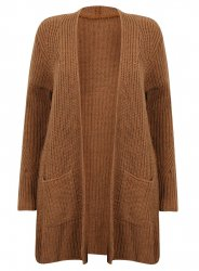 SL882 Ex Chainstore Ultimate Chunky Cardigan - Rust x8