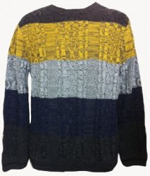 SM002 Ex UK Chainstore Block Gradient Jumper x12