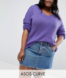 SL1061 Ex Chainstore Jumper In Sheer Knit With V Neck x10