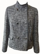 SL084 Ex UK Chainstore Double Breasted Tweed Jacket x10