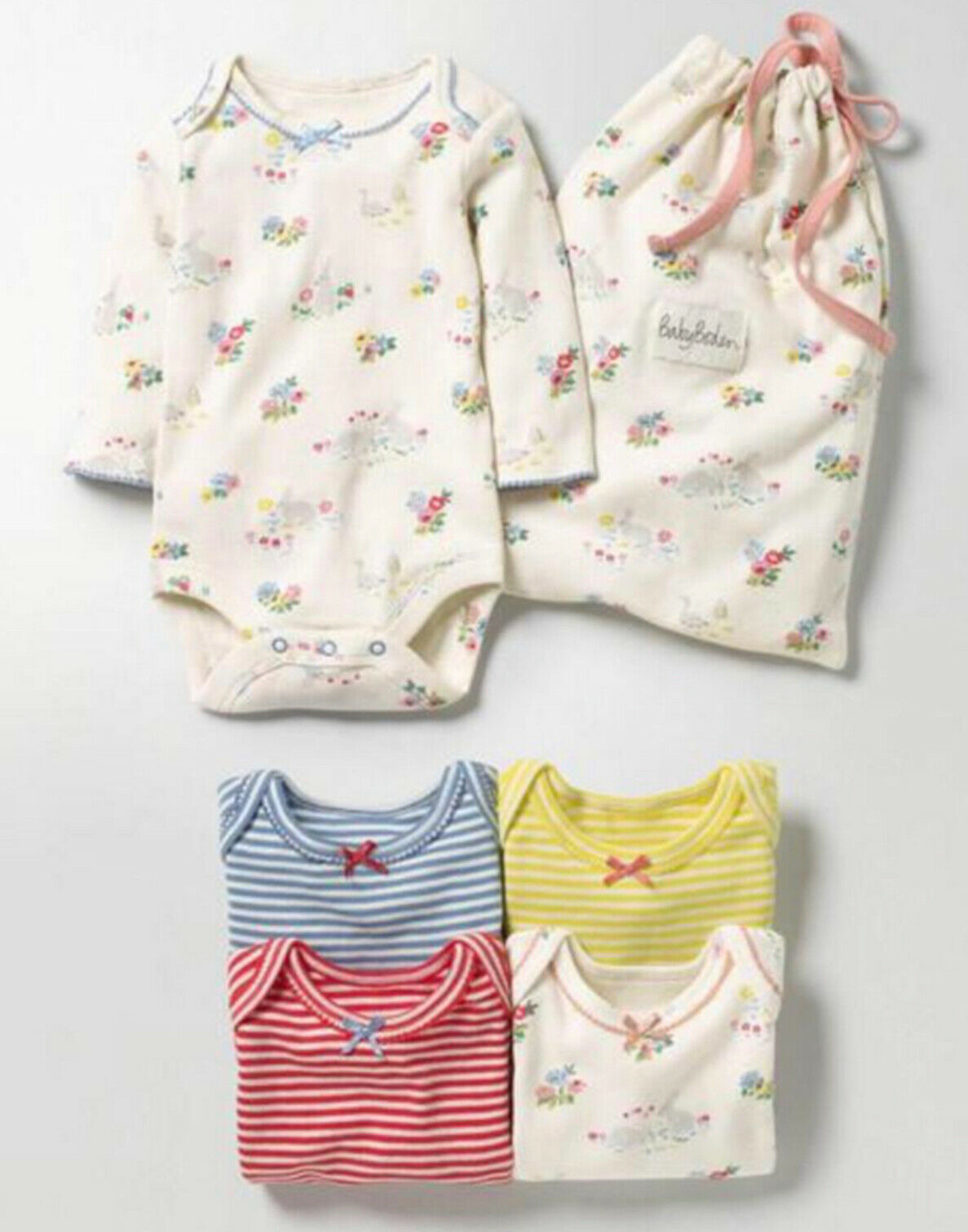 SC275 Ex Chainstore Assorted Park & Stripes Bodysuits x87