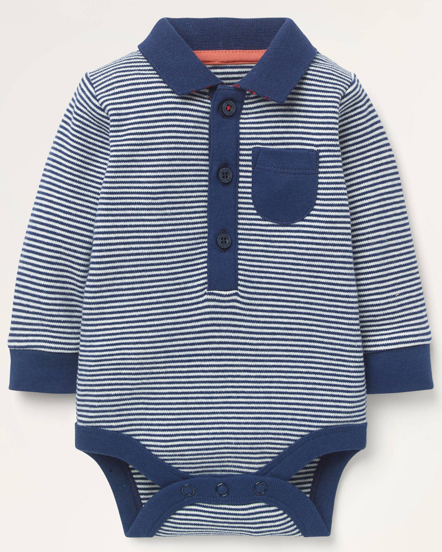SC549 Ex Chainstore Stripe Collared Bodysuit x52