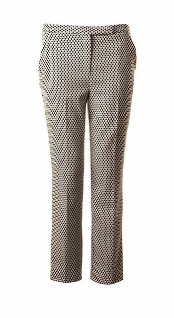 SL685 Ex UK Chainstore Smart Dogtooth Print Trousers x10