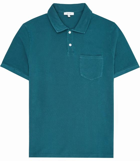 SM058 Ex Chainstore Port Garment Dyed Polo Shirt x12