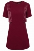 SL912 Ex UK Chainstore A-Line Overlay Dress - Purple x12