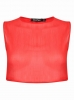 SL1096 Ex Chainstore Sleeveless Open Back Crop - Red x20
