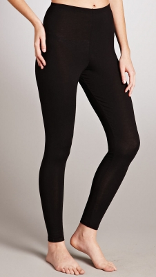 SL530 Ex UK Chainstore Black Thermal Leggings x12