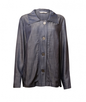 SL614 Ex UK Chainstore Denim Style Shirt Jacket x12