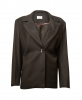 SL616 Ex UK Chainstore Black Pinstripe Jacket x10