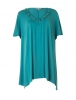 SL709 Ex UK Chainstore Aqua Diamante Blouse x11