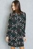 SL1133 Ex Chainstore Floral Belted Shirt Dress x23