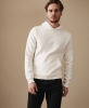 SM055 Ex Chainstore Garment Dyed Hoodie - Off White x10