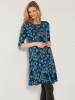 SL1197 Ex Chainstore All Over Floral Printed Dress x13