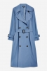 SL1229 Ex Chainstore Batwing Trench Coat x12